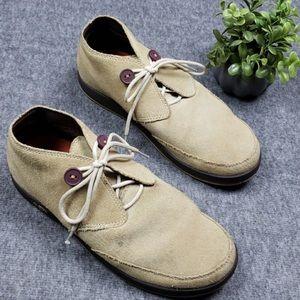Chaco Tan Suede Chukka Boots